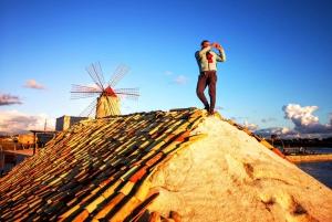 Trapani: 2-Hour Salt Flats Tour