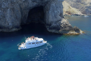Trapani: Marettimo Island and Sea Caves Boat Tour with Lunch