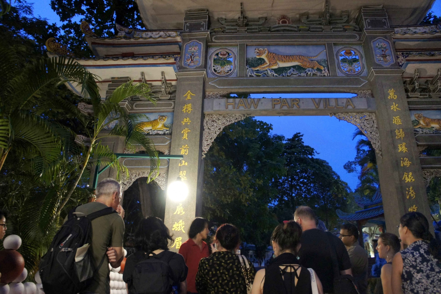 Haw Par Villa Twilight Walking Tour