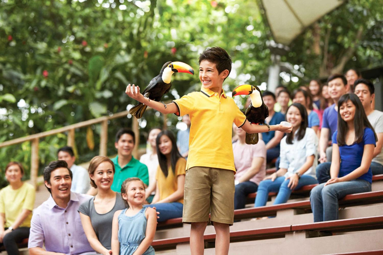 Jurong Bird Park Fixed Dated Ticket