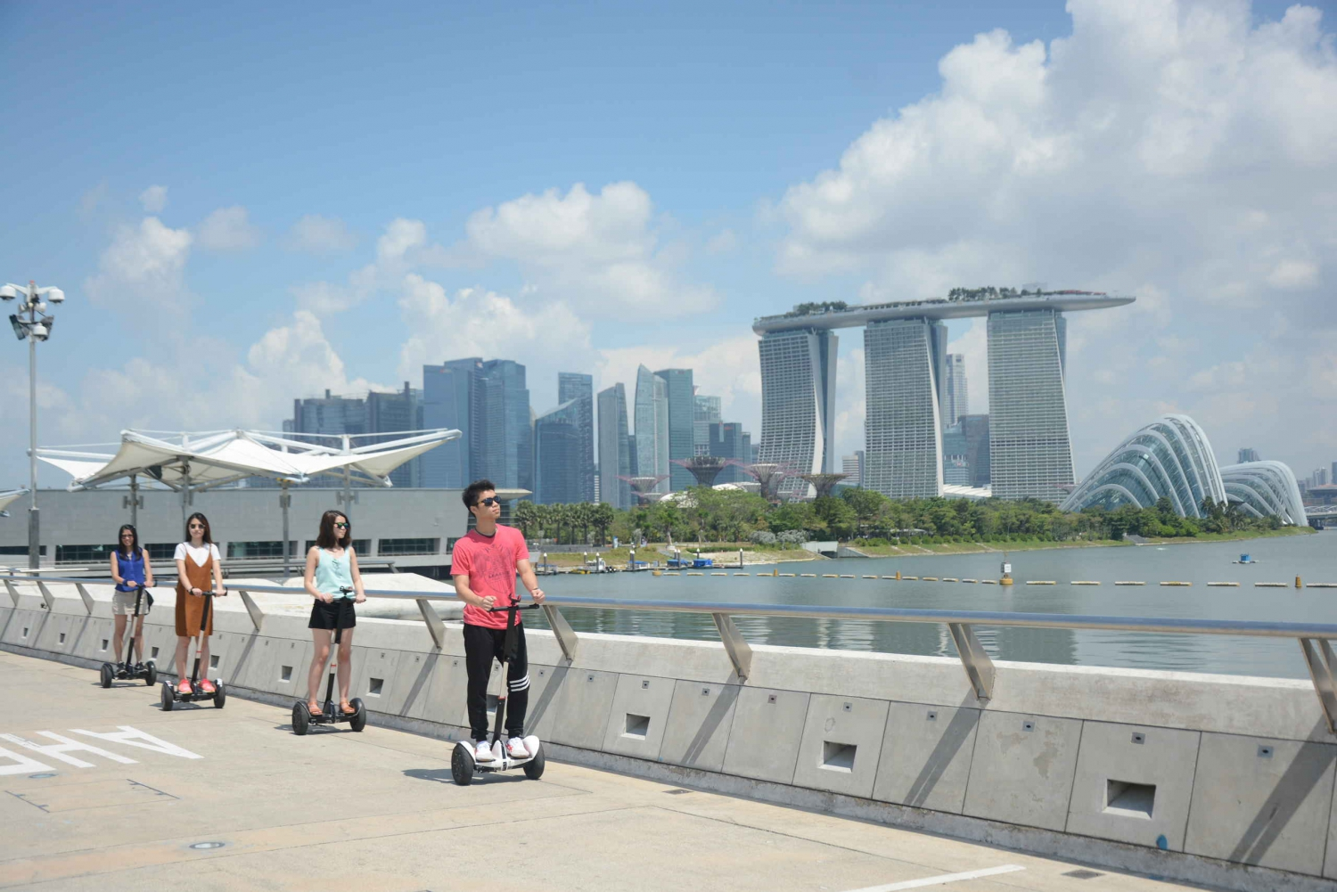 Marina Bay 3-Hour Mini Segway Tour