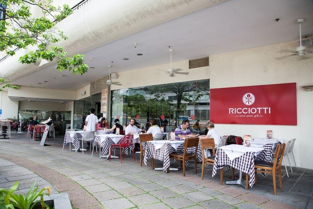 Ricciotti Pizza Pasta Grill In Singapore My Guide Singapore