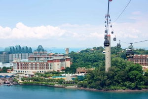 Sentosa Cable Car to Faber Peak & Lunch at Arbora