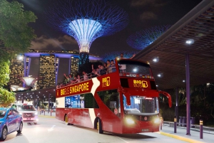 Singapore: Big Bus Open-Top Hop-on Hop-off Sightseeing Tour