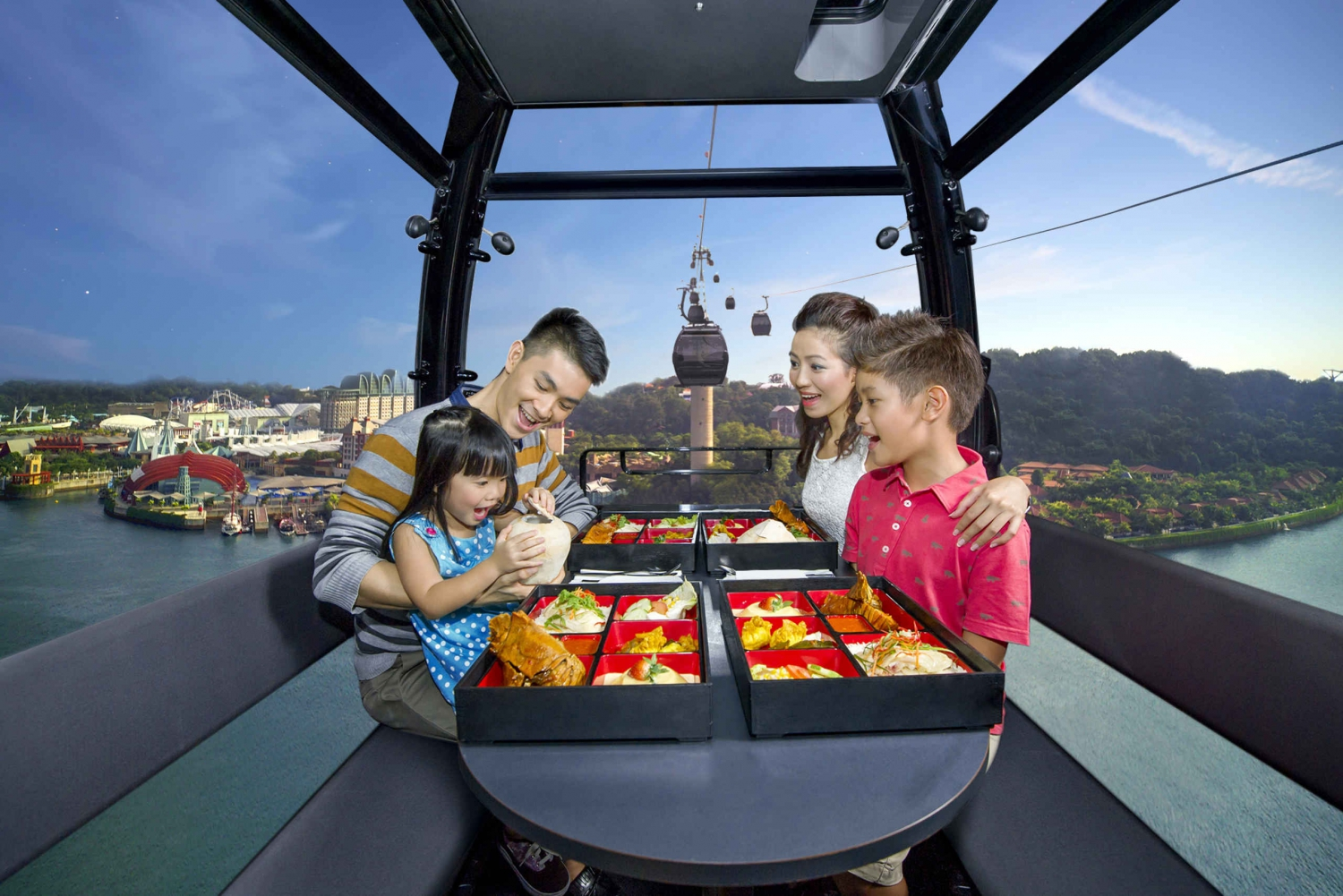 Singapore Cable Car: Singapore Delights Dining Experience
