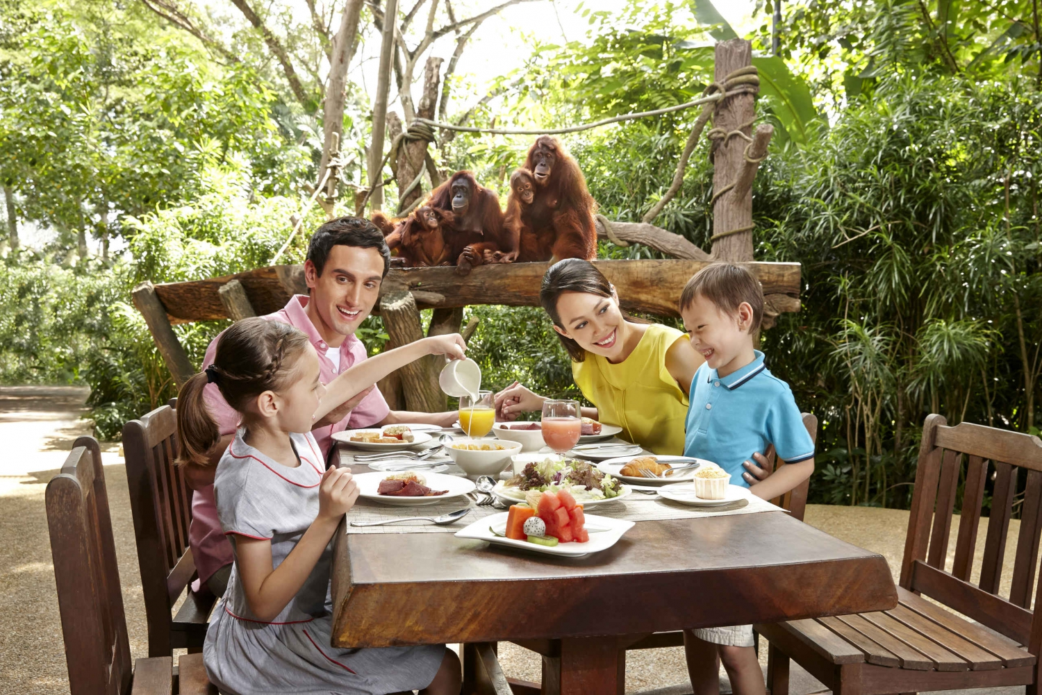 Singapore Zoo: Jungle Breakfast with Wildlife & Entry Ticket