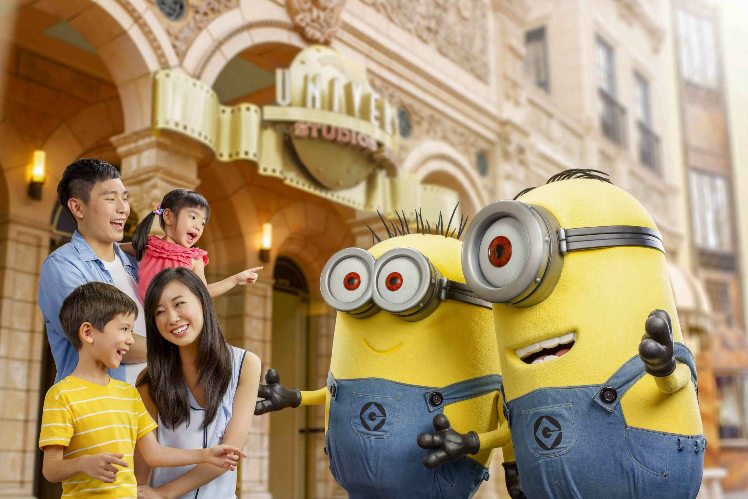 Universal Studios Singapore Ticket with Hotel Pick-Up