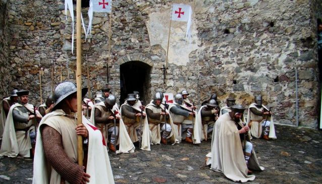 Walking in the Footsteps of Templars
