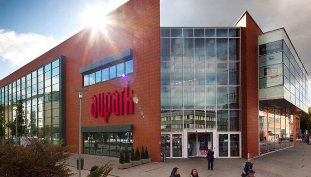 d1d1a35222 Aupark Shopping Center  ilina in Slovakia