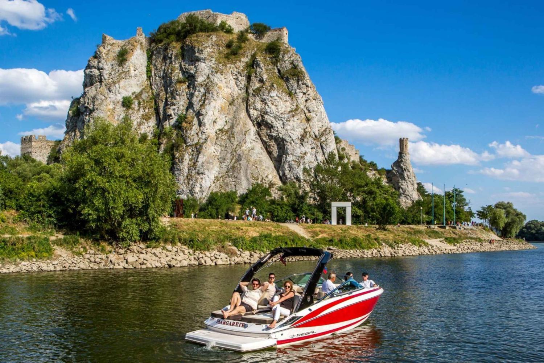 Bratislava by Speedboat