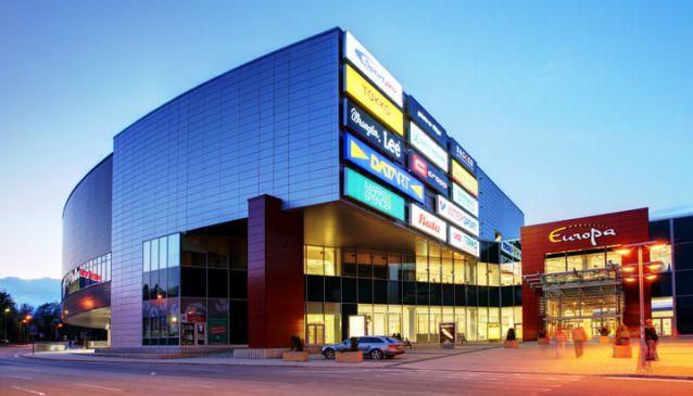 Europa Shopping Center Banská Bystrica in Slovakia  5ff4da88ac