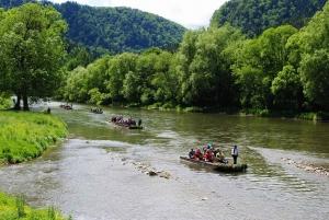 From Kraków: Slovakia Treetop Walk and Dunajec Rafting Tour