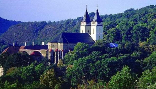 Monastery in Hronsky Benadik