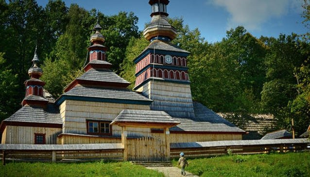 Museum of Folk Architecture in Bardejov Spa