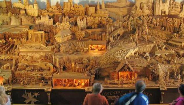 Nativity Scene 'Slovak Betlehem' in Rajecká Lesná