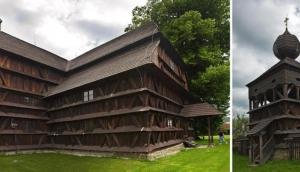 Wooden Church and Bellhouse Hronsek