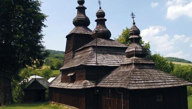 Wooden Church Mirol'a