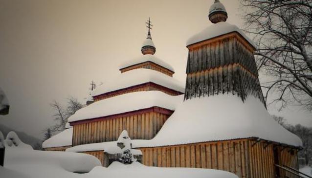 Wooden Church Príkra