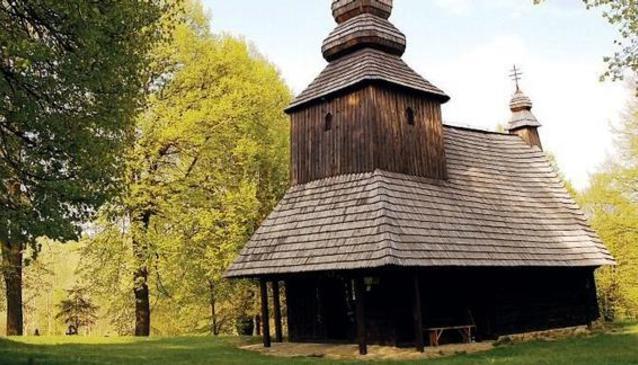 Wooden Church Ruská Bystrá