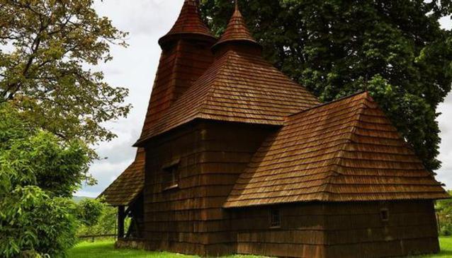 Wooden Church Tro?any
