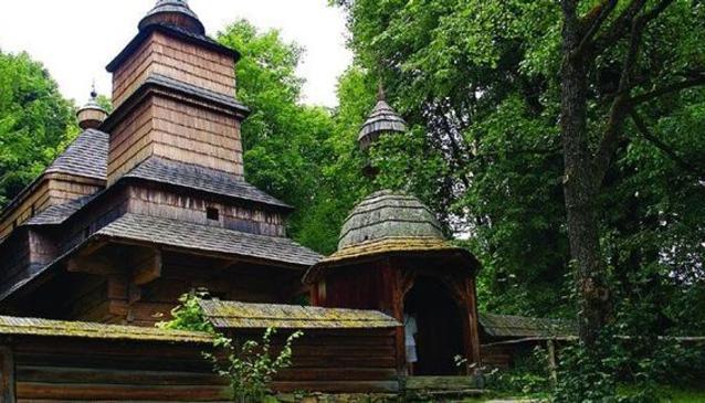 Wooden Church Zboj