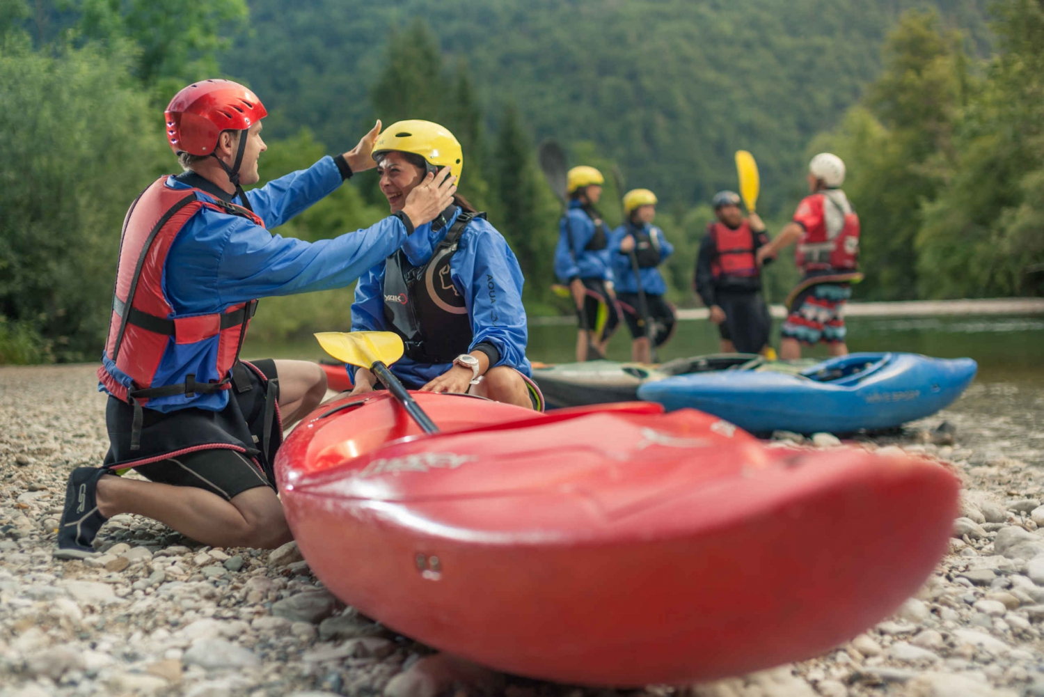 1.5-Hour River Kayaking Experience from Bled