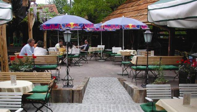 Beli konj pub Slovenske konjice
