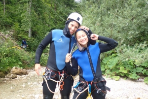 Bled: 2 Canyoning Trips in 1 Day