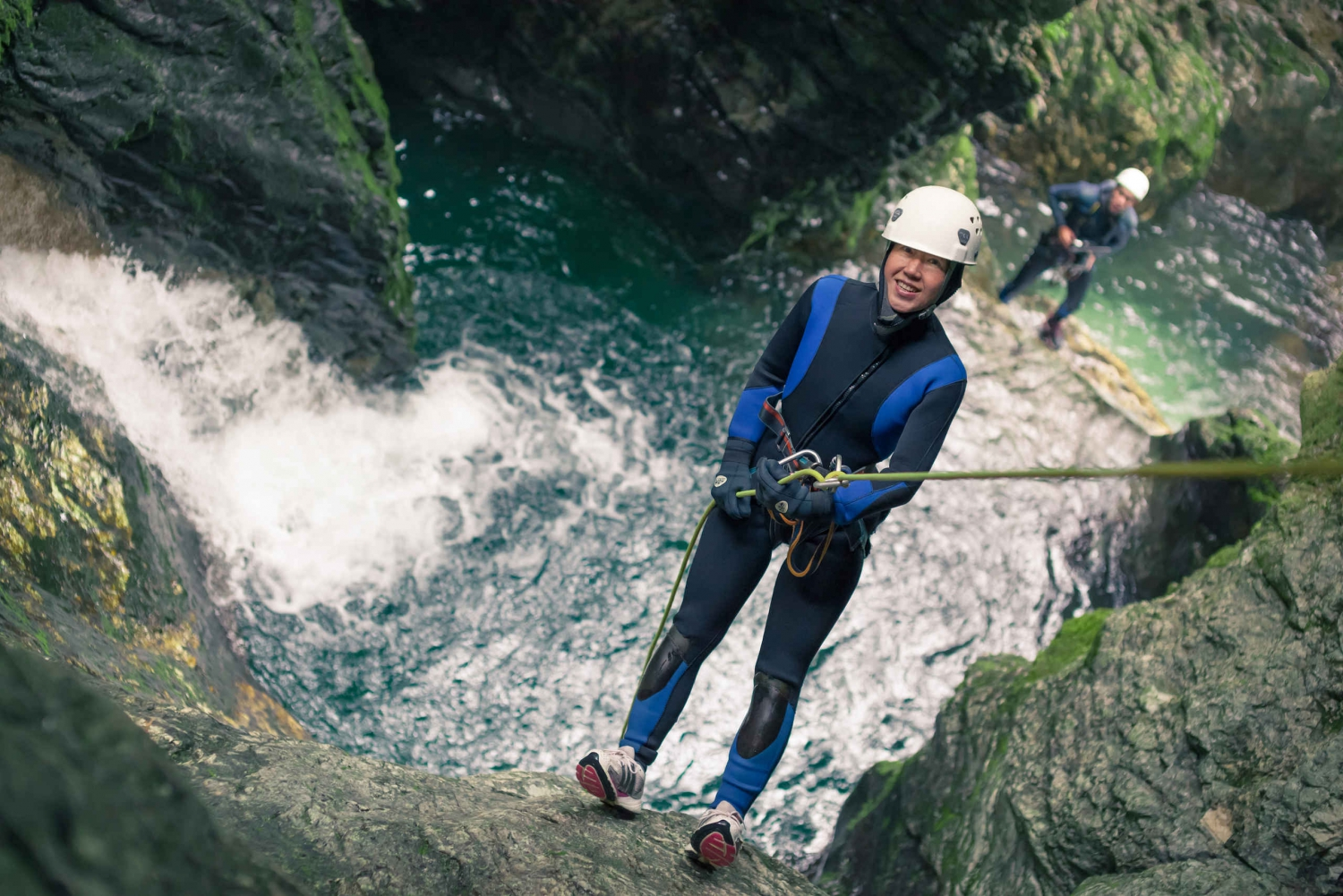 Bled: Amazing Canyoning Adventure Half-Day Tour