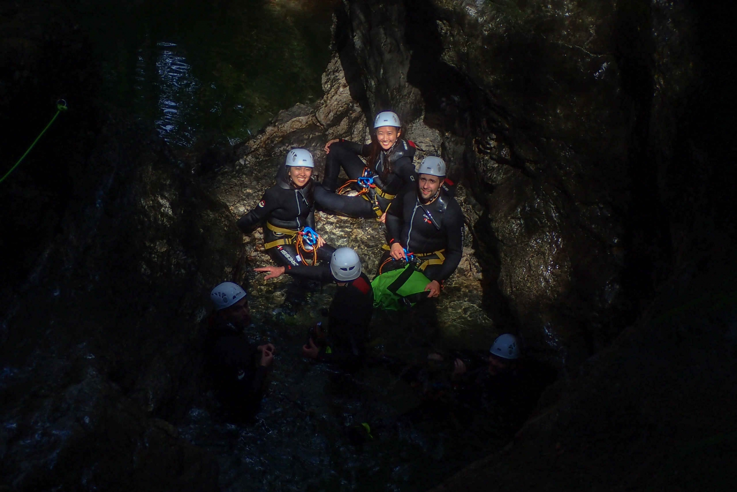 Bled: Night Canyoning Experience