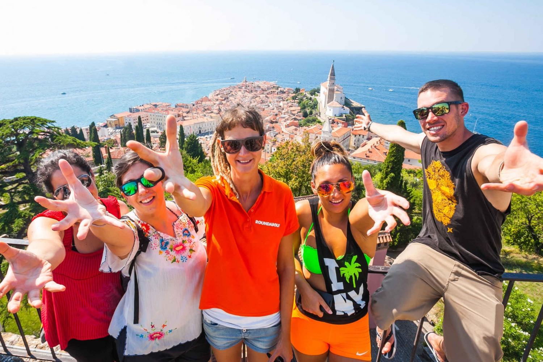 Bled or Ljubljana: Karst & Coast Full-Day Trip