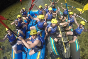 Bled: Rafting and Zipline Tour