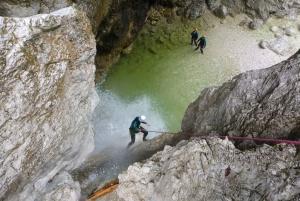 Bovec: Canyoning in Triglav National Park