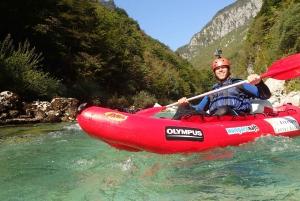 Bovec: Kayaking on the Soča River