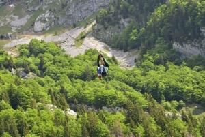 Bovec: Panoramic Zipline Tour