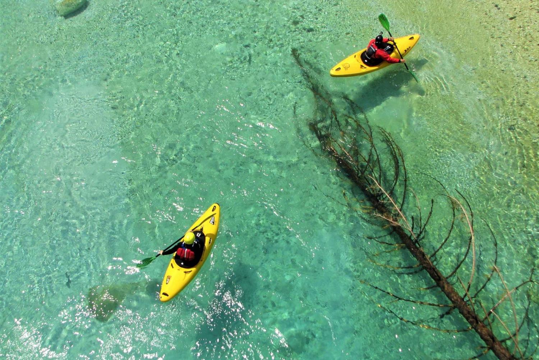 Bovec Soča River 2-Day Beginners Kayak Course