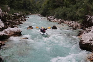 Bovec: Soča River Private Rafting Experience for Couples