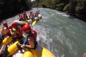 From Bled: Water Rafting on the Sava River