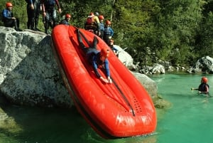 From Bovec: 3.5-Hour Rafting on Soča River