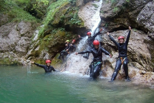 From Bovec: Basic Level Canyoning Experience in Sušec