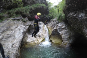From Bovec: Half-Day Canyoning Tour in Soča Valley