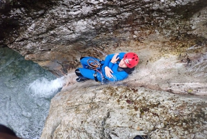 From Bovec: Sušec Stream Canyoning in the Soča Valley