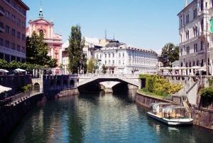 From Koper: Ljubljana Private Walking Tour with Transfers