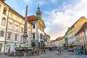 From Koper: Private Full-Day Tour to Lake Bled and Ljubljana