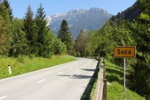 From Ljubljana: Guided Day Tour to Soča and Kranjska Gora