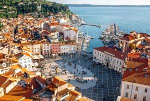From Ljubljana: Sunset Group Tour of Piran