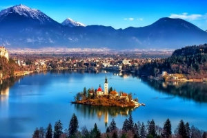 From Ljubljana: Trip to Lake Bled and Bled Castle