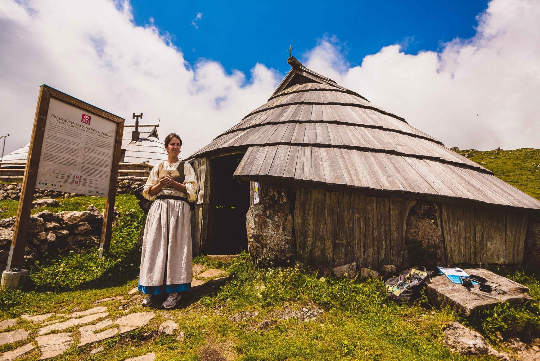 From Lubljana: Kamnik and Velika Planina Tour