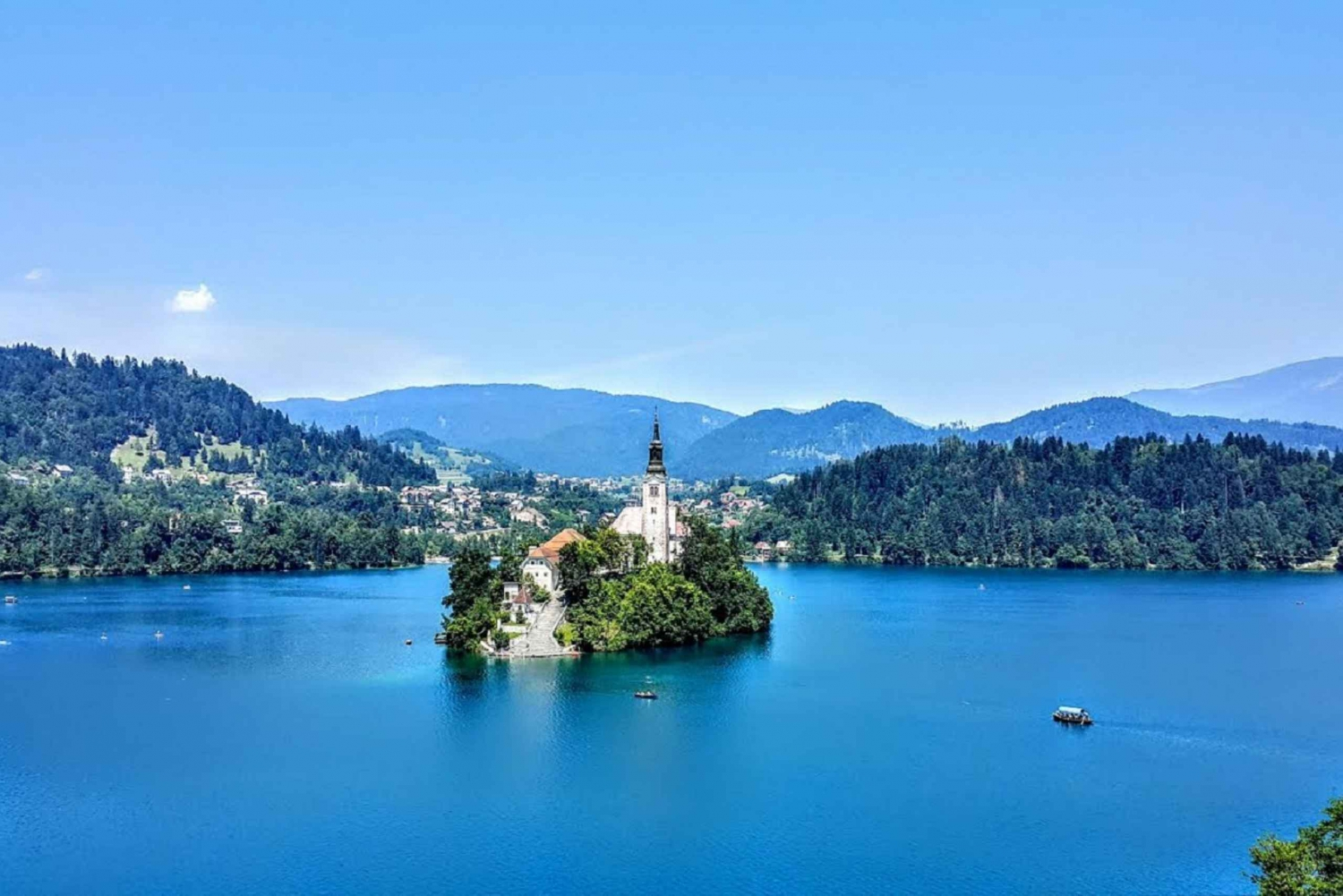 From Trieste: Lake Bled and Ljubljana Tour
