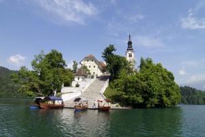 From Zagreb: Ljubljana and Lake Bled Tour